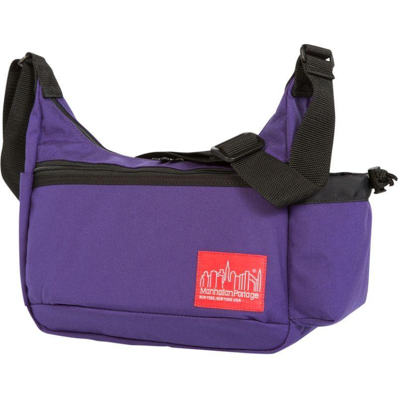 マンハッタンポーテージ メンズ ショルダーバッグ バッグ Clarkson Street Day Bag Purple