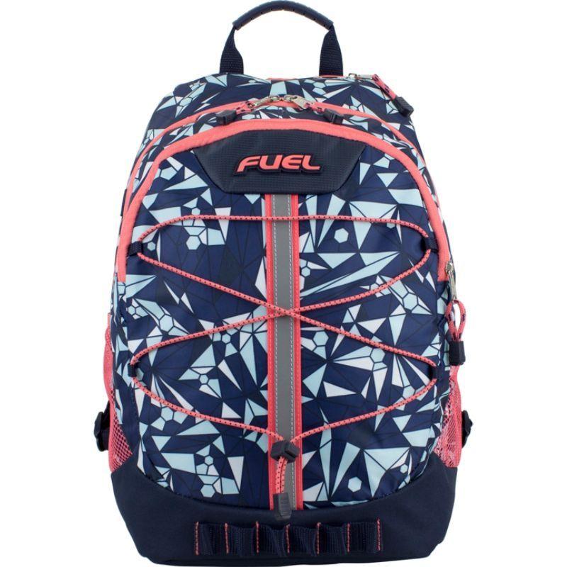 フュエル メンズ バックパック・リュックサック バッグ Terra Sport Spacious School Backpack Blue/Coral