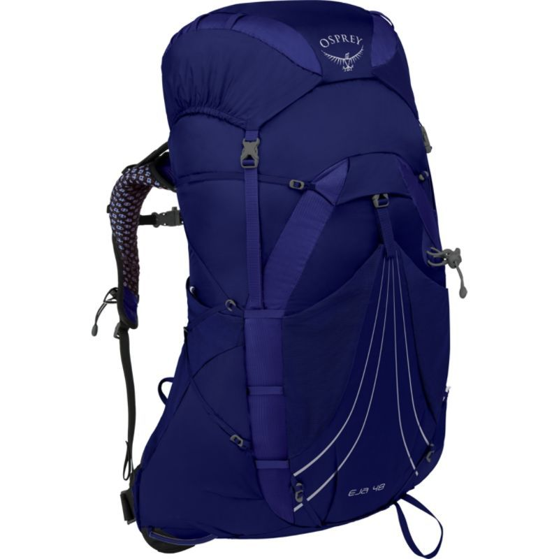 オスプレー メンズ バックパック・リュックサック バッグ Eja 48 Hiking Backpack Equinox Blue XS