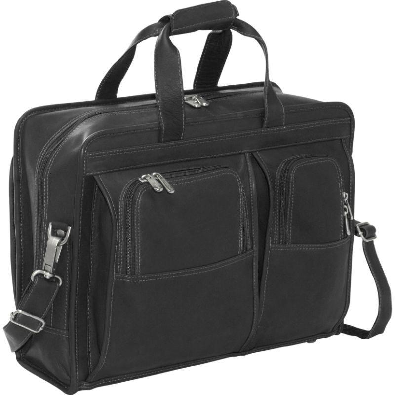 ピエール メンズ スーツケース バッグ Professional Computer Portfolio Black