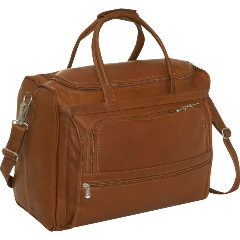 ピエール メンズ スーツケース バッグ Computer Carry-All Bag Saddle