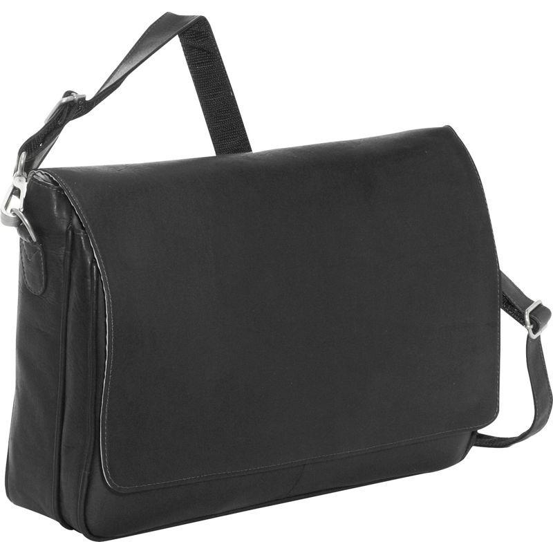 ピエール メンズ スーツケース バッグ Professional Laptop Messenger Black