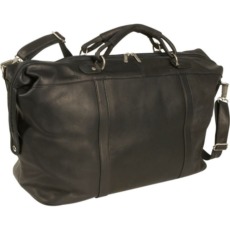 ピエール メンズ スーツケース バッグ Large Carry-On Satchel Black