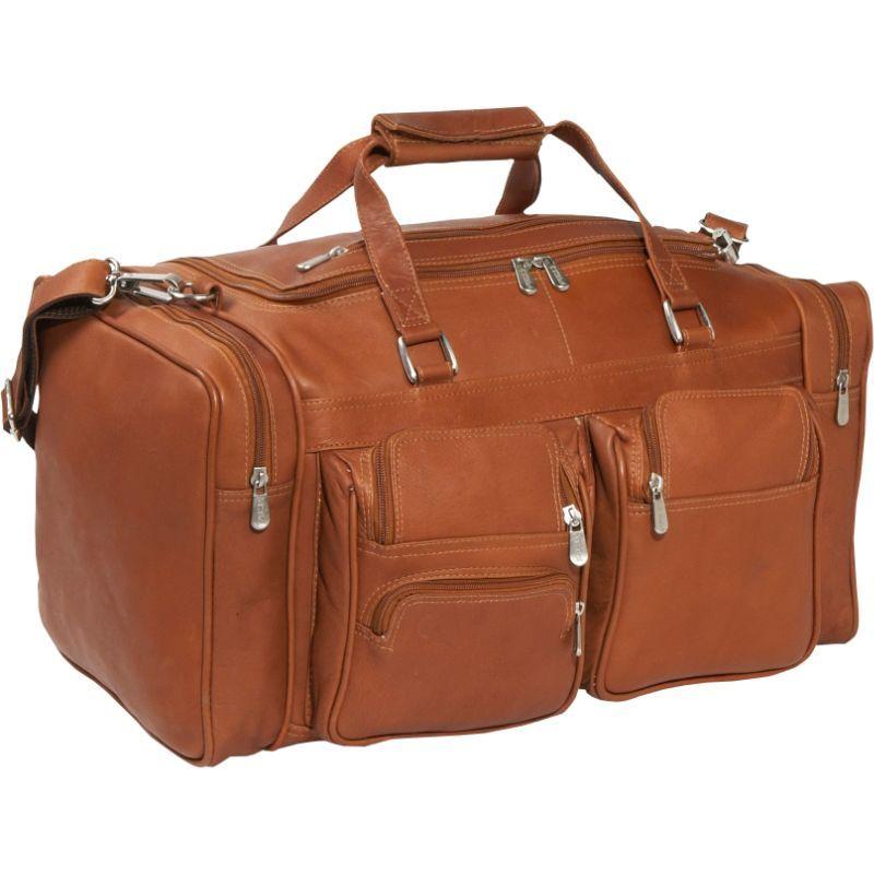 ピエール メンズ スーツケース バッグ 20 Duffel Bag with Pockets Saddle