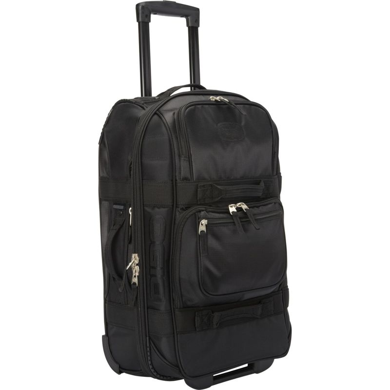 オギオ メンズ スーツケース バッグ Layover 22 Rolling Carry-On Stealth