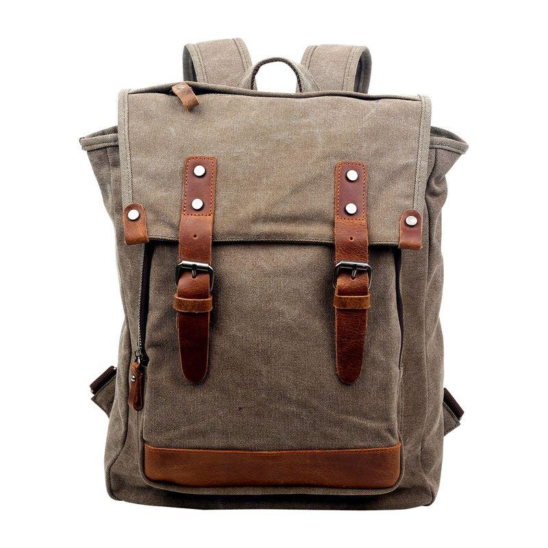 ティエスディー メンズ バックパック・リュックサック バッグ Discovery Backpack Khaki