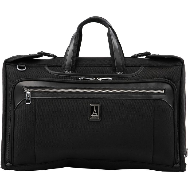 トラベルプロ メンズ スーツケース バッグ Platinum Elite Tri-Fold Carry-On Garment Bag Shadow Black