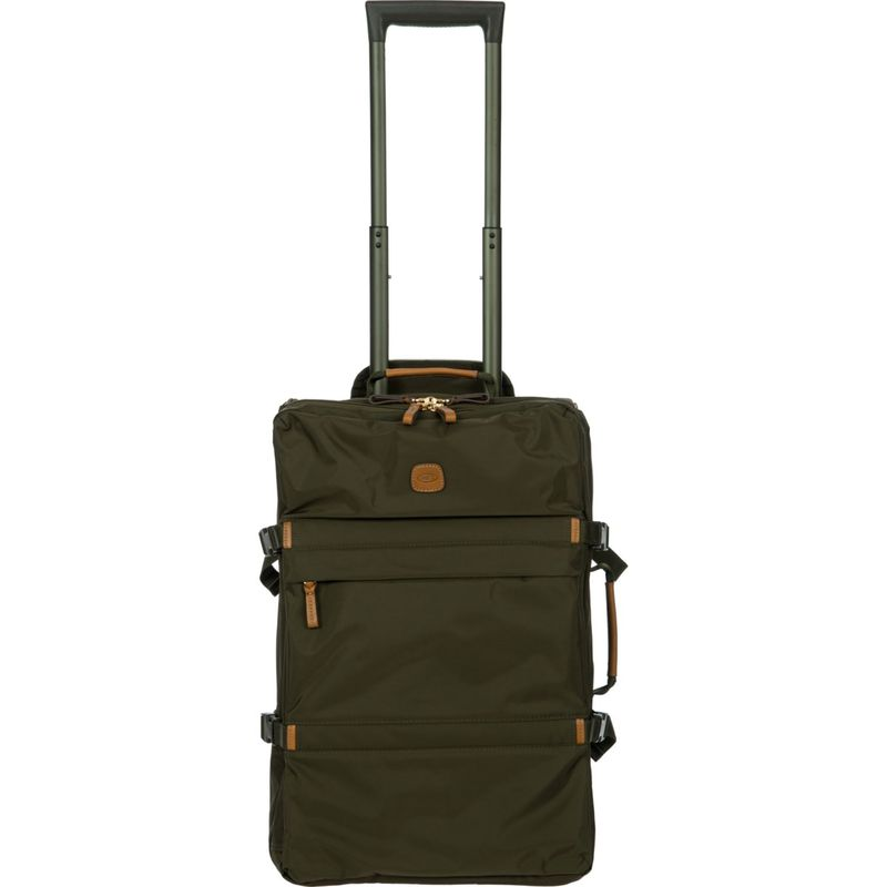 ブリックス メンズ スーツケース バッグ X-Travel Montagne 21 Lightweight Rolling Carry-On Olive