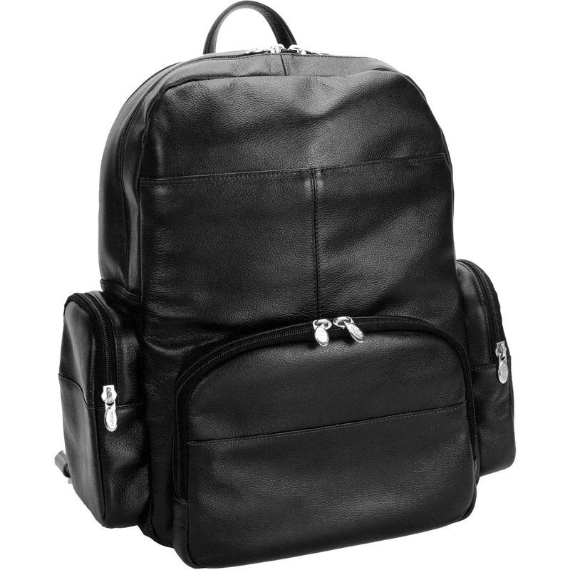 マックレイン メンズ バックパック・リュックサック バッグ Cumberland Laptop Backpack Black