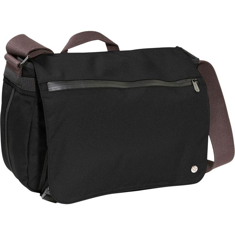 トーケン メンズ ショルダーバッグ バッグ Whitehall Laptop Bag [M] Black