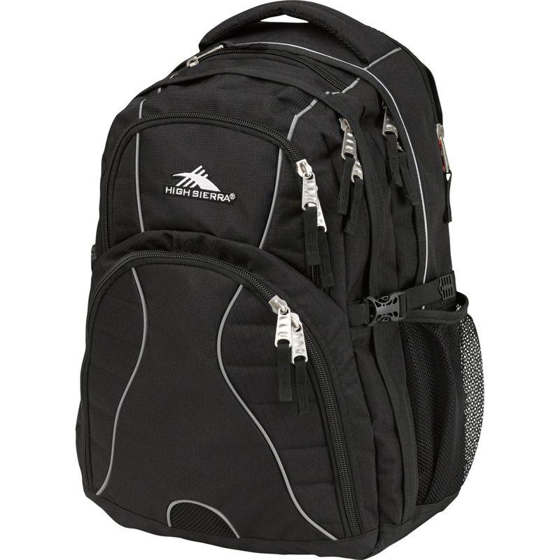 ハイシエラ メンズ バックパック・リュックサック バッグ Swerve Laptop Backpack - 15 Black