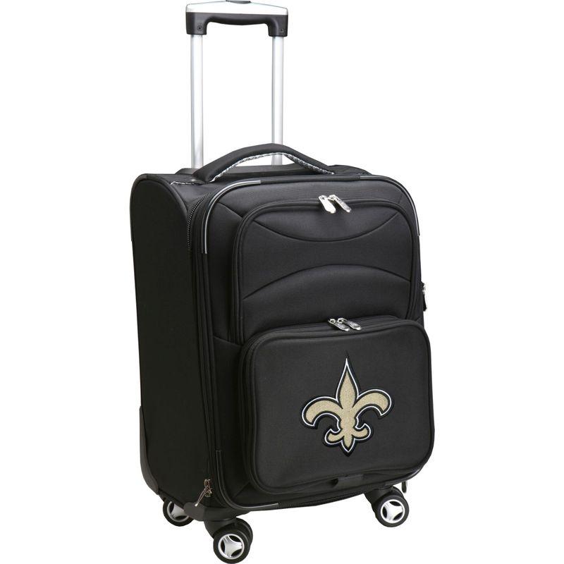 デンコスポーツ メンズ スーツケース バッグ NFL 20 Domestic Carry-On Spinner New Orleans Saints