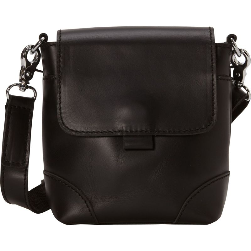 ヴァガボンドトラベラー メンズ ボディバッグ・ウエストポーチ バッグ 7 Leather Crossbody/Waist Bag Black