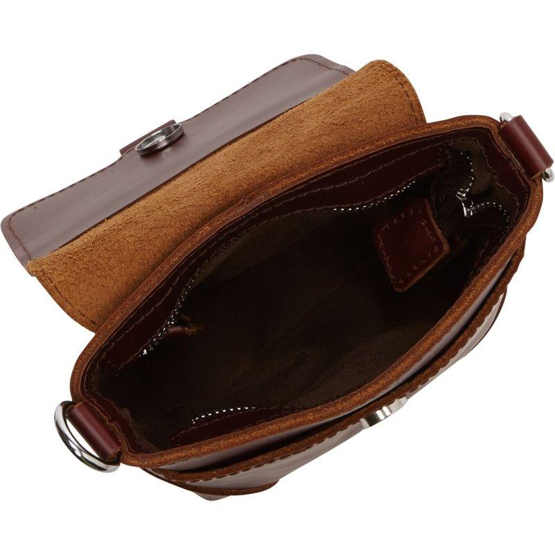 ヴァガボンドトラベラー メンズ ボディバッグ・ウエストポーチ バッグ 7 Leather Crossbody Waist Bag BlackLj54RA