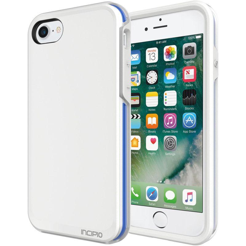 インシピオ メンズ PC・モバイルギア アクセサリー Performance Series Ultra (no holster) for iPhone 7 White/Blue(WBL)