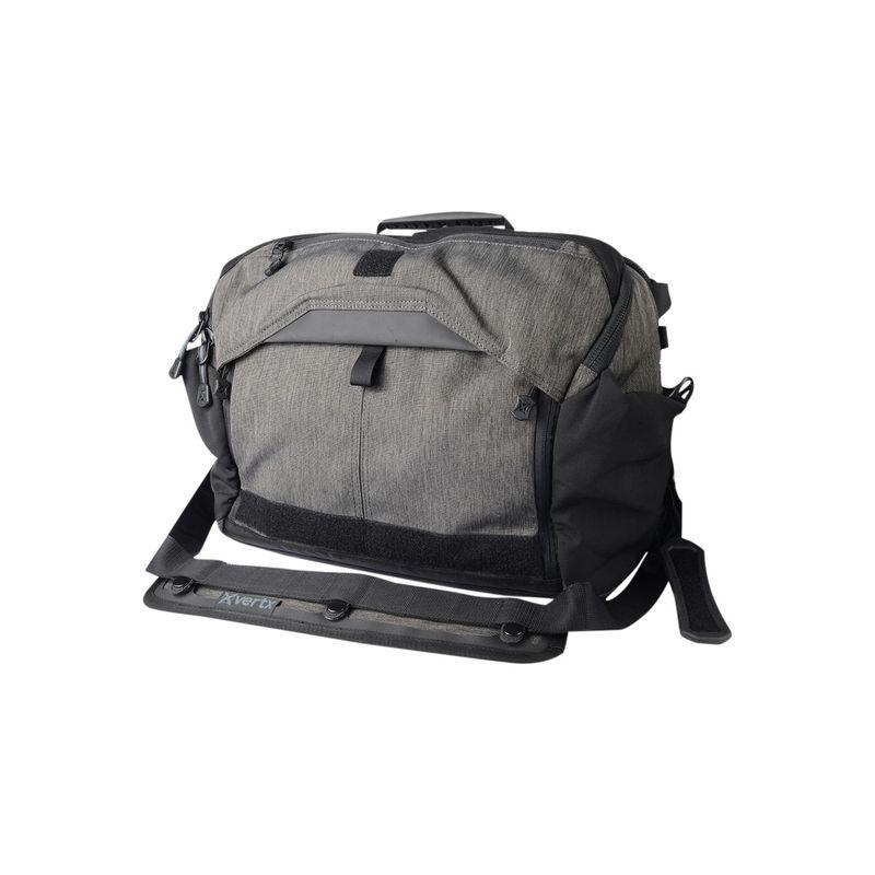バーテックス メンズ スーツケース バッグ EDC Courier Messenger Bag Heather Black