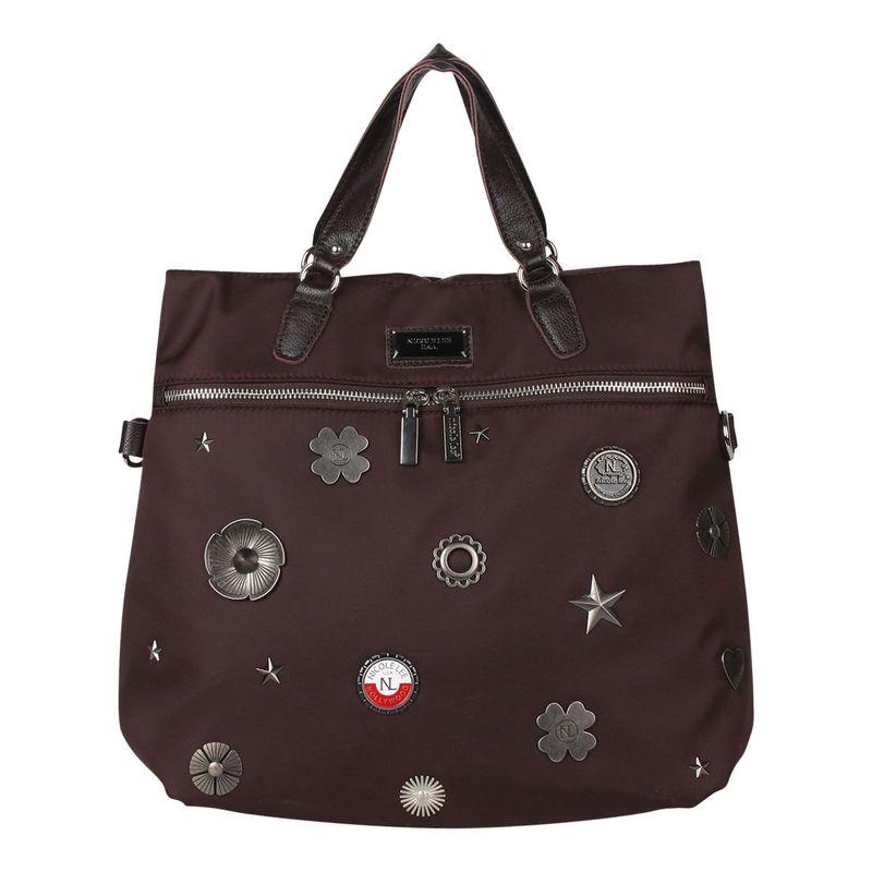 ニコルリー メンズ バックパック・リュックサック バッグ Liya Lucky Charms Convertible Backpack Brown