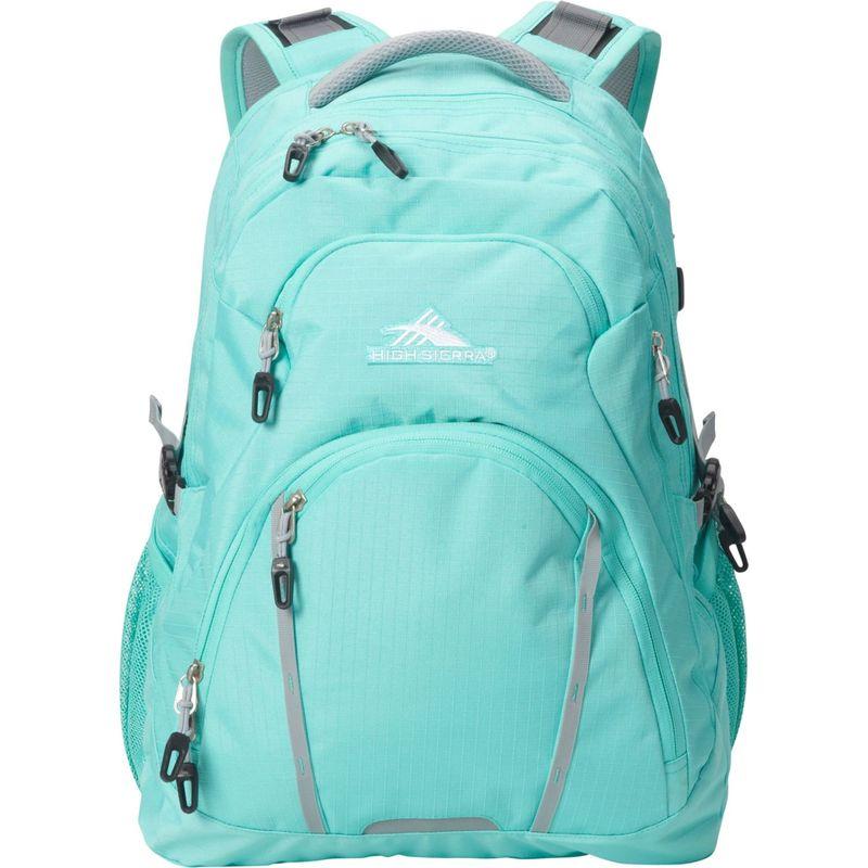 ハイシエラ メンズ スーツケース バッグ Emery Laptop Backpack-17 Aquamarine/Ash