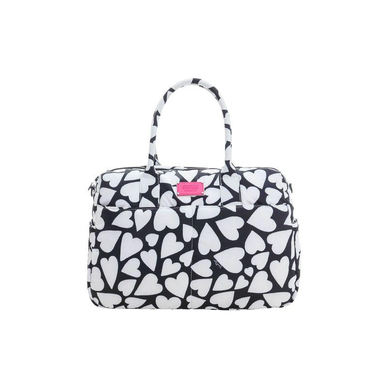 ヴォヴァロヴァ メンズ スーツケース バッグ Boston Bag Endless Love - Black