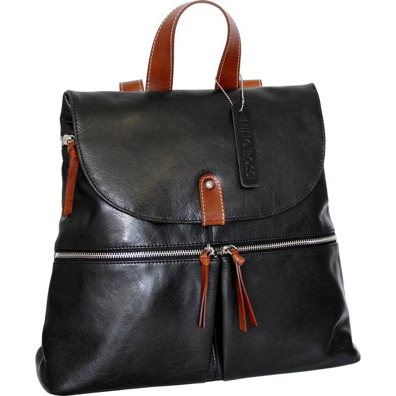 ニノボッシ メンズ バックパック・リュックサック バッグ Berenice Backpack Black