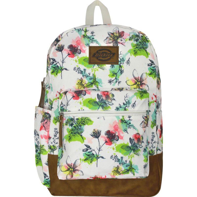 ディッキーズ メンズ バックパック・リュックサック バッグ Colton Poly Canvas Laptop Backpack Watercolor Floral