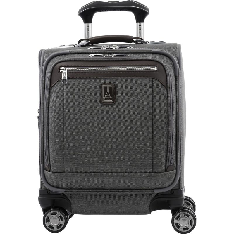 トラベルプロ メンズ スーツケース バッグ Platinum Elite Carry-On Spinner Tote Vintage Grey