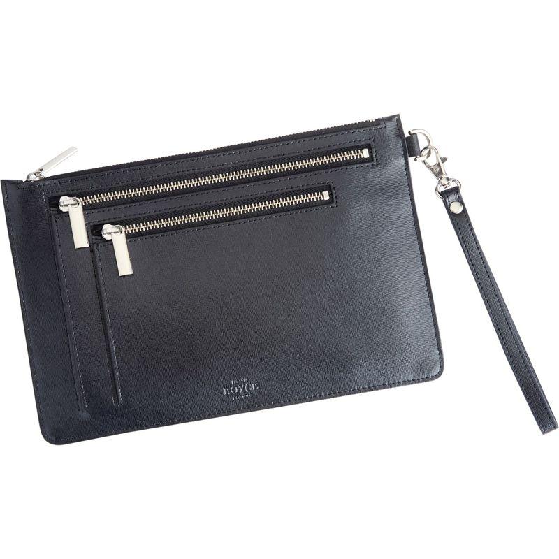ロイスレザー メンズ ボディバッグ・ウエストポーチ バッグ RFID Blocking Cross Body Bag Black