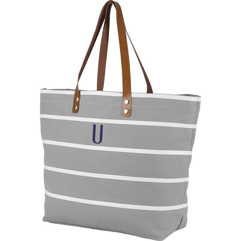 キャシーズ コンセプツ メンズ トートバッグ バッグ Monogram Tote Bag Grey - U