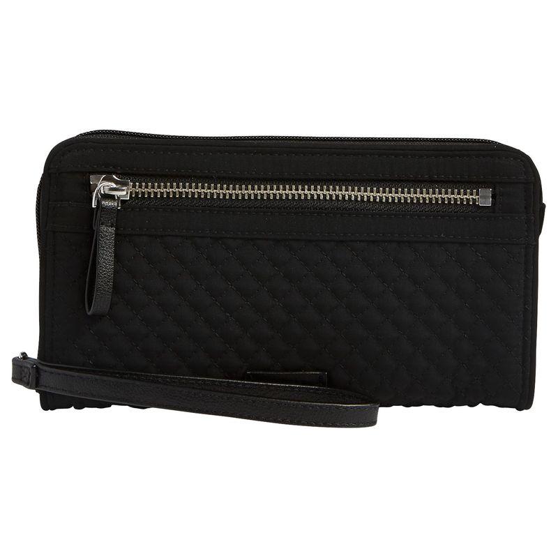 ベラブラッドリー メンズ セカンドバッグ・クラッチバッグ バッグ Iconic RFID Front Zip Wristlet Classic Black