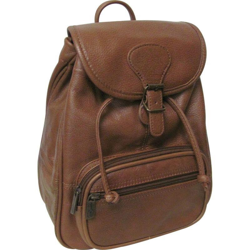 アメリ メンズ バックパック・リュックサック バッグ Ladies' Leather Backpack Brown
