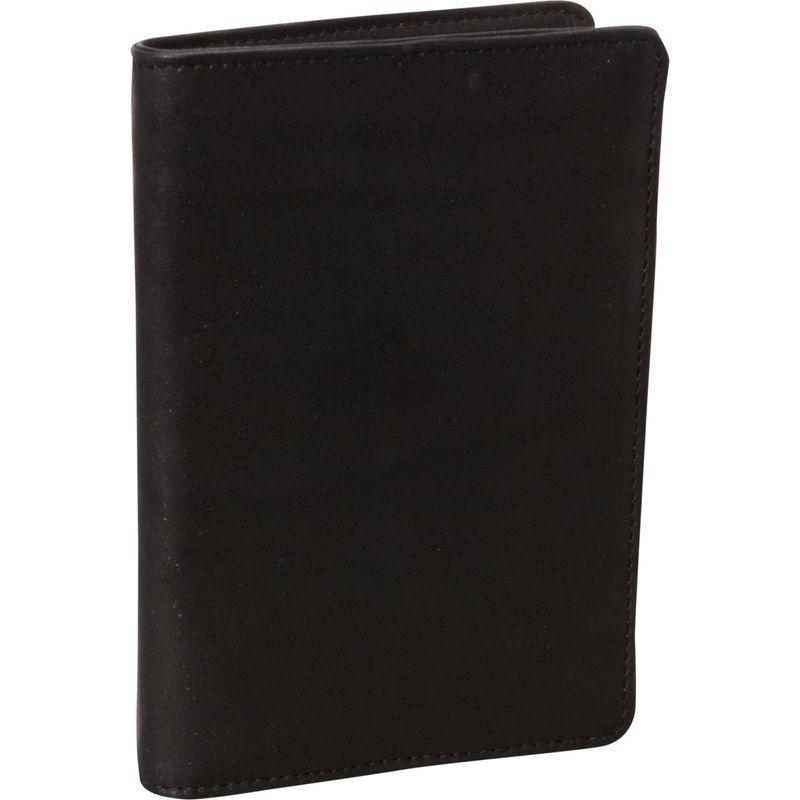 デレクアレクサンダー メンズ 財布 アクセサリー NS Breast Pocket Travel Wallet Black