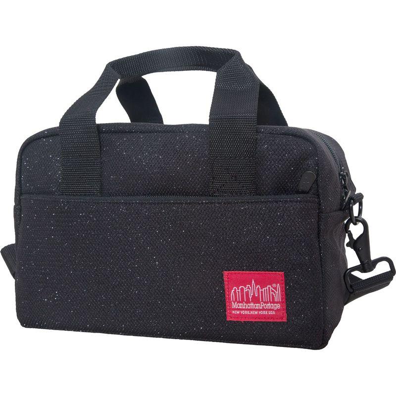 マンハッタンポーテージ メンズ ショルダーバッグ バッグ Midnight Parkside Shoulder Bag Black