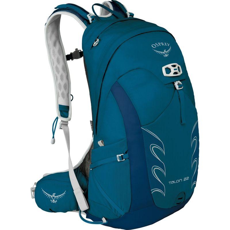 オスプレー メンズ バックパック・リュックサック バッグ Talon 22 Hiking Pack Ultramarine Blue M/L