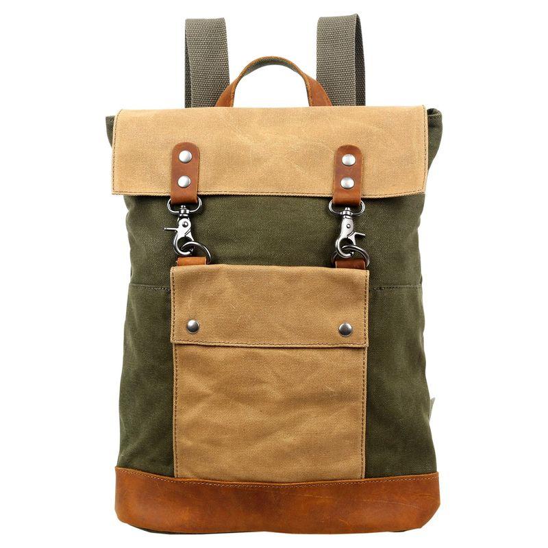 ティエスディー メンズ バックパック・リュックサック バッグ Hillside Backpack Army Green