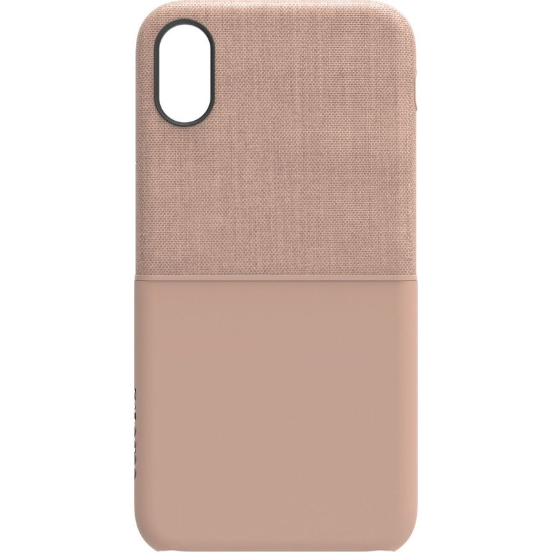 インケース メンズ PC・モバイルギア アクセサリー Textured Snap for iPhone X Rose Gold