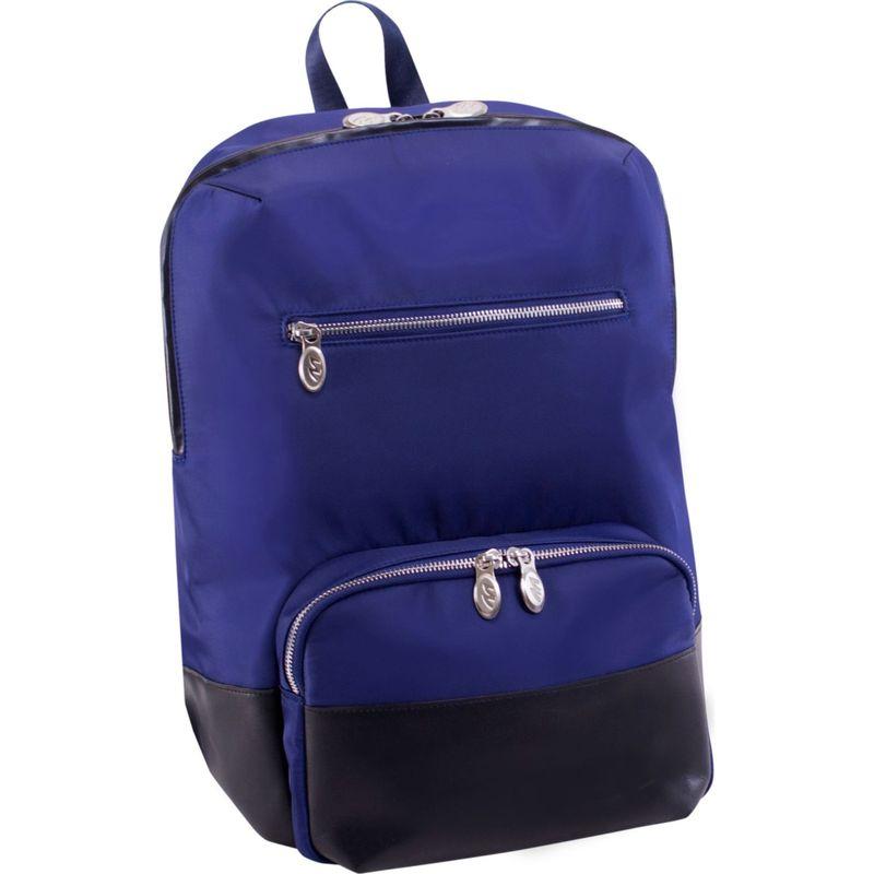 マックレイン メンズ バックパック・リュックサック バッグ Brooklyn Laptop Backpack Navy