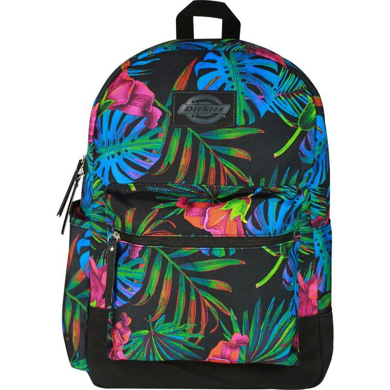 ディッキーズ メンズ バックパック・リュックサック バッグ Colton Poly Canvas Laptop Backpack Neon Tropical