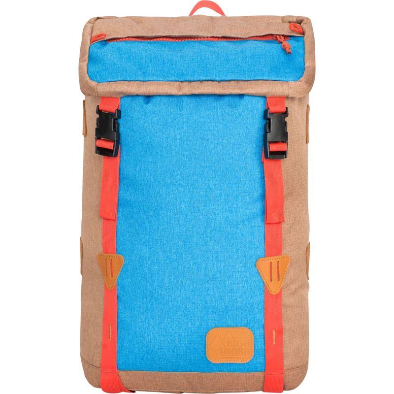 ハイシエラ メンズ バックパック・リュックサック バッグ Klettersack Laptop Backpack Coconut/Sky/Red Rock