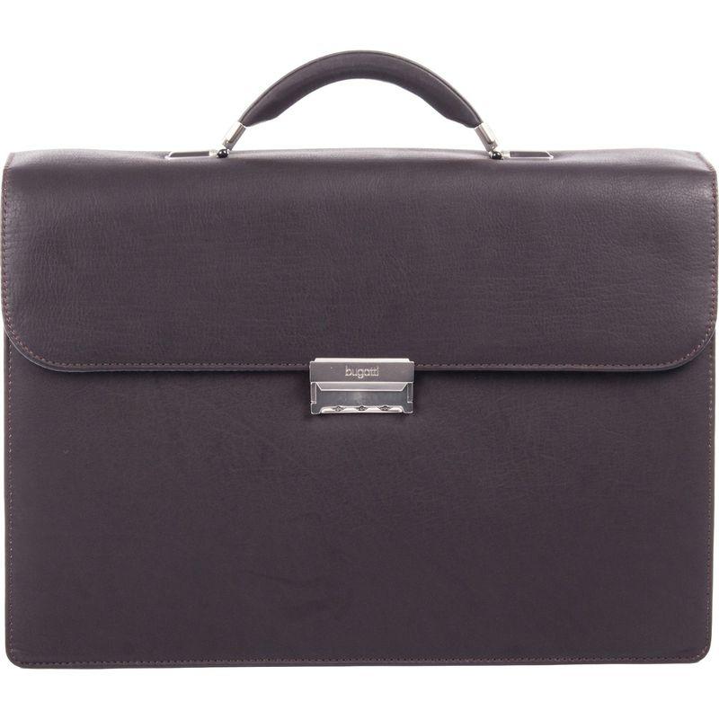 ブガッティ メンズ スーツケース バッグ Sartoria Medium Top Grain Leather Briefcase Brown