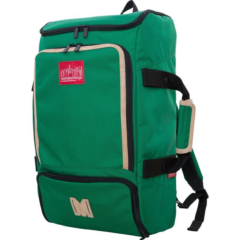 マンハッタンポーテージ メンズ バックパック・リュックサック バッグ Ludlow Convertible Backpack Green