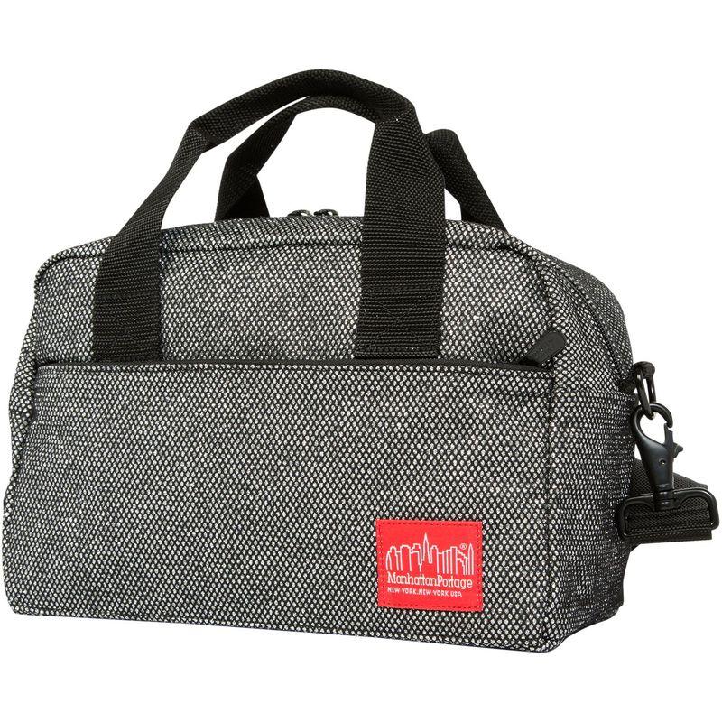 マンハッタンポーテージ メンズ ショルダーバッグ バッグ Midnight Parkside Shoulder Bag Gunmetal Silver
