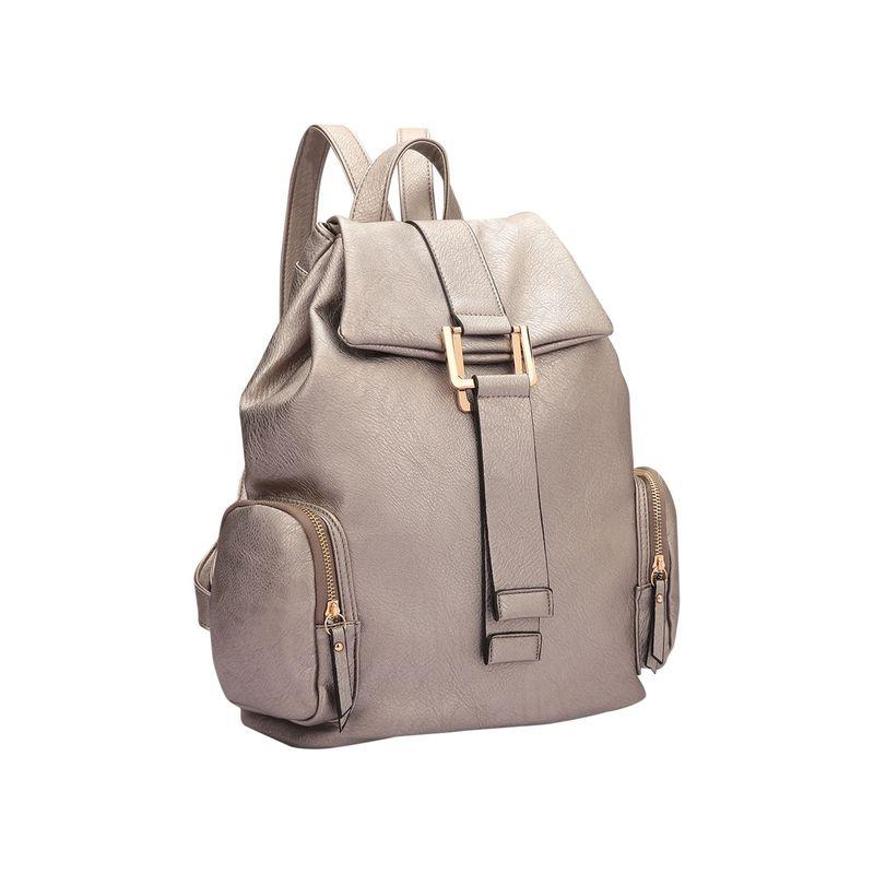 ダセイン メンズ バックパック・リュックサック バッグ Drawstring Accent Backpack with Side Pockets Pewter