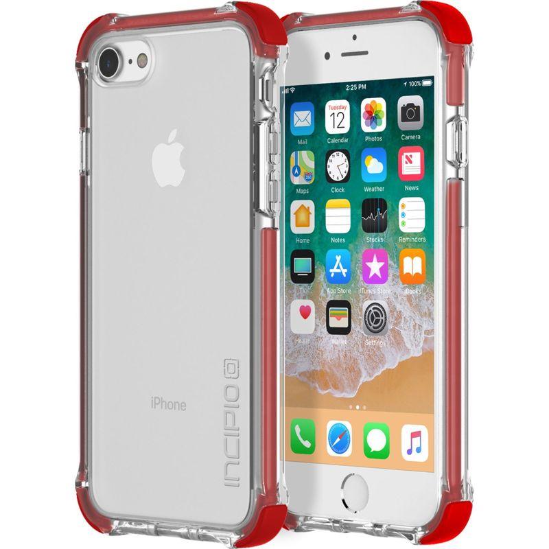 インシピオ メンズ PC・モバイルギア アクセサリー Reprieve Sport Case for iPhone 8 Red/Clear