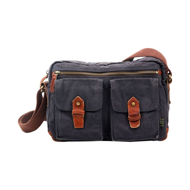 ティエスディー メンズ ショルダーバッグ バッグ Trail Breeze Mail Bag Dark Grey