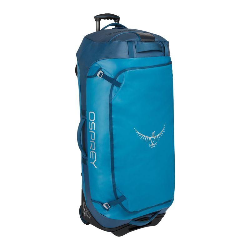 オスプレー メンズ スーツケース バッグ Rolling Transporter 120L Checked Kingfisher Blue