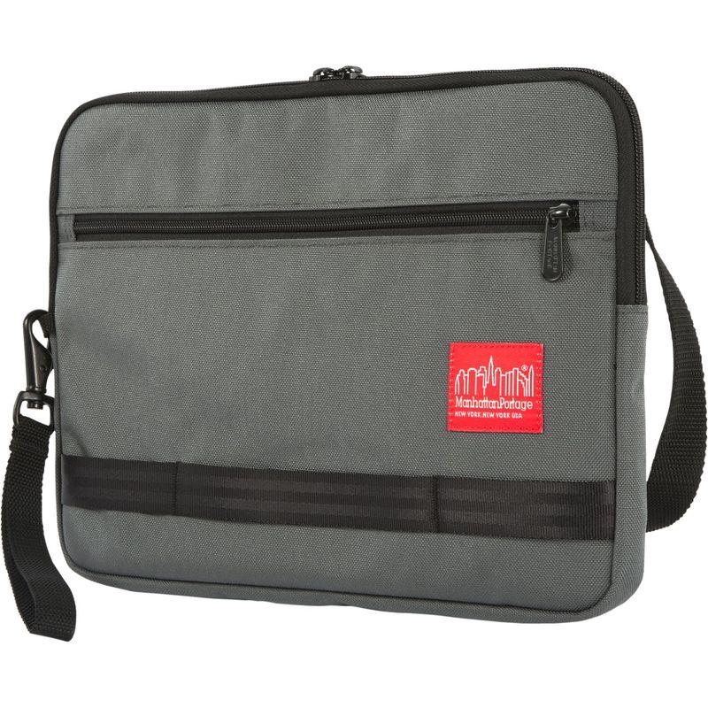 マンハッタンポーテージ メンズ スーツケース バッグ Henry Portfolio Case - Large Gray