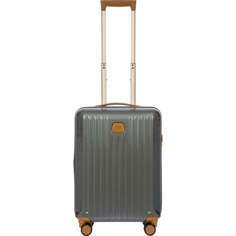 ブリックス メンズ スーツケース バッグ Capri 21 Hardside Spinner Carry-On Grey