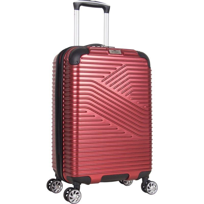 ベンシャーマン メンズ スーツケース バッグ Bangor 20 Expandable PET Hardside Carry-On Spinner Red
