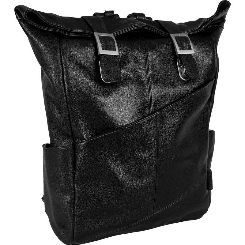 マックレイン メンズ バックパック・リュックサック バッグ Kennedy Dual Access Laptop Backpack Black
