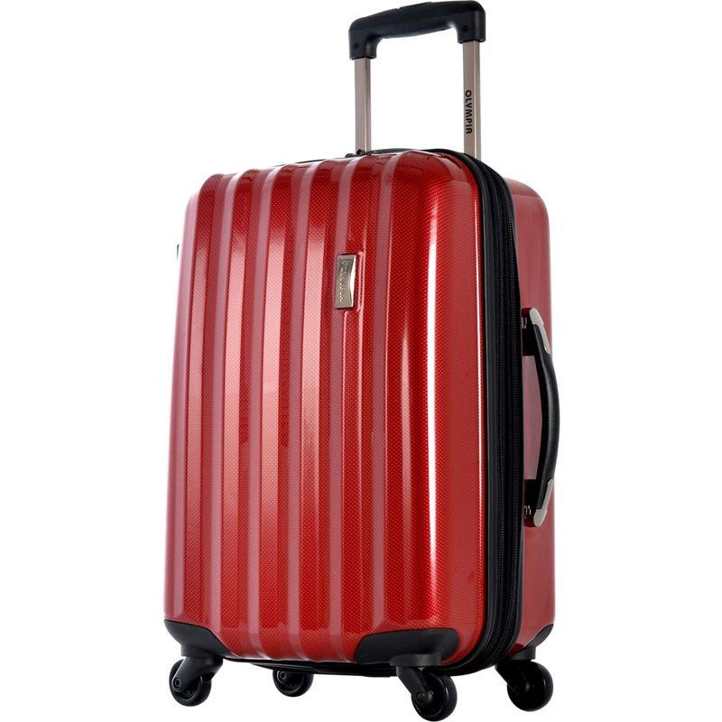 オリンピア メンズ スーツケース バッグ Titan Hardside 25 Spinner Reds
